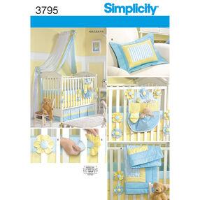 Simplicity Pattern 3795 Nursery Accessories