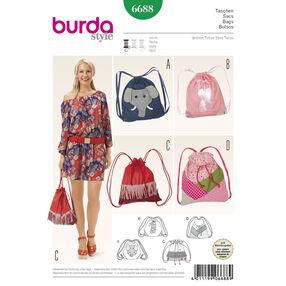 Burda Style Pattern 6688 Bags