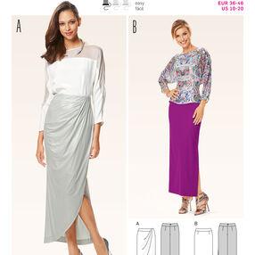B6648 Misses' Skirt