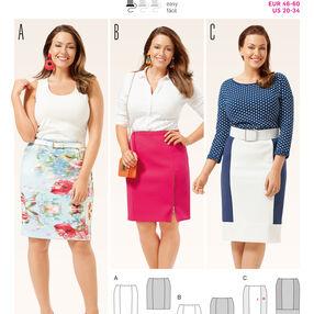 B6679 Women's Skirt