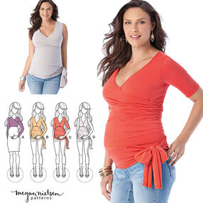 Misses' Knit Maternity Tops