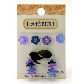 Purple Buds and Leaf Beads_56-10045