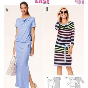 B6639 Misses' Dress