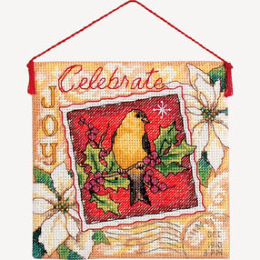 Joy Ornament, Counted Cross Stitch_70-08844