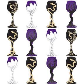 Halloween Goblet Stickers_50-21261