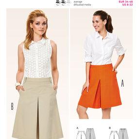 Burda Style Pattern 6905 Skirts