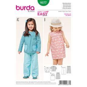 Burda Style Pattern 9377 Coordinates