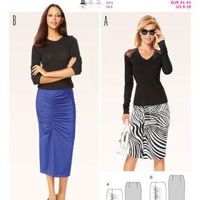 B6634 Misses' Skirt