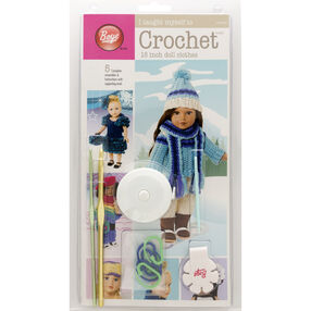 """Boye I Taught Myself To Crochet 18"""" Doll Clothes Kit"""