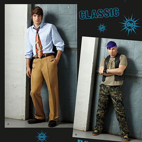 Men's Pants SUEDEsays Collection