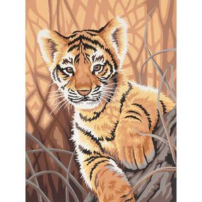 Tiger Cub, Paint by Number_91420