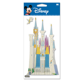 Disney Castle Dimensional Stickers_DJBV04
