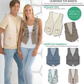 Misses' & Men's Vests