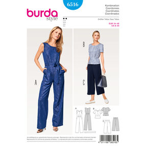 Burda Style Pattern B6516 Misses' Coordinates