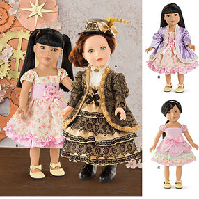 Pattern 8112 18 inch Doll Clothes