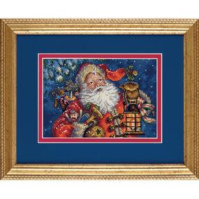 Nighttime Santa, Counted Cross Stitch_70-08865
