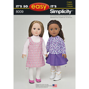 """It's So Easy 18"""" Doll Clothes"""