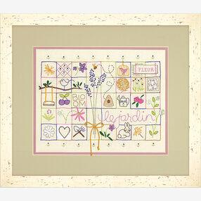 Le Jardin Sampler in Embroidery_71-01545