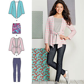 Knit Separates for Girls' and Girls' Plus