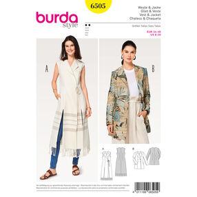 Burda Style Pattern B6505 Misses' Jacket