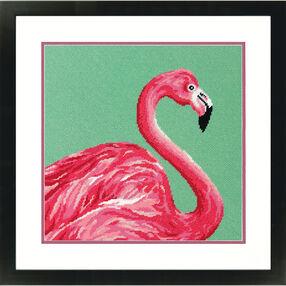 Pink Flamingo, Needlepoint_71-20086