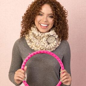 Loom Knit Chunky Cowl