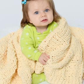 Knit Soft Baby Blanket