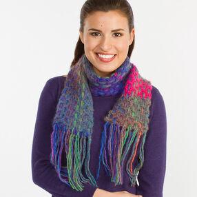 Woven Crochet Scarf