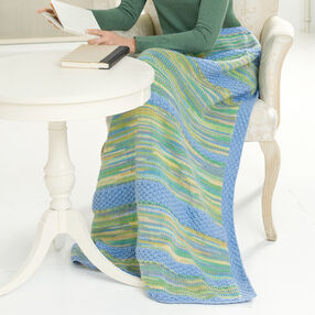 Knitted Tranquil Lapghan