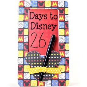 Countdown to Vacation Door Sign