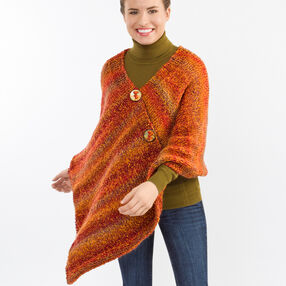 Pretty Knitted Poncho