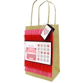Fringed Gift Bag