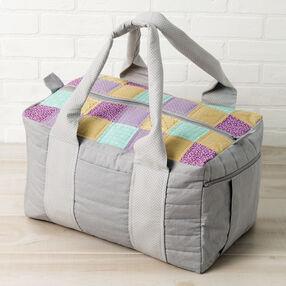 Leftie-Rightie Square Overnight Bag