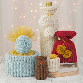 Knitted Gift Bags