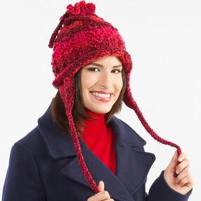 Knit Ear Warmer Horseshoes Hat