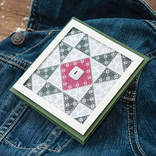 Snowflake Quilt Card