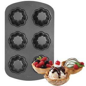 6-Cavity Non-Stick Ice Cream Cookie Bowl