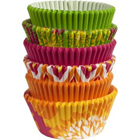 Wilton Neon Florals Collection of Baking Cups, 150 Ct. 415-2180