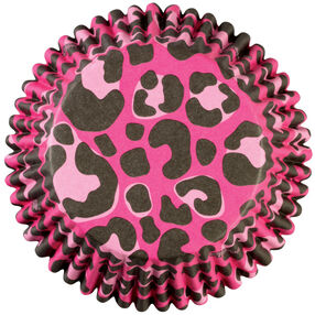 Pink Leopard ColorCup Baking Cups