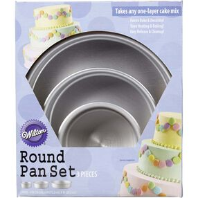 Perfect Performance Round Cake Pan Set