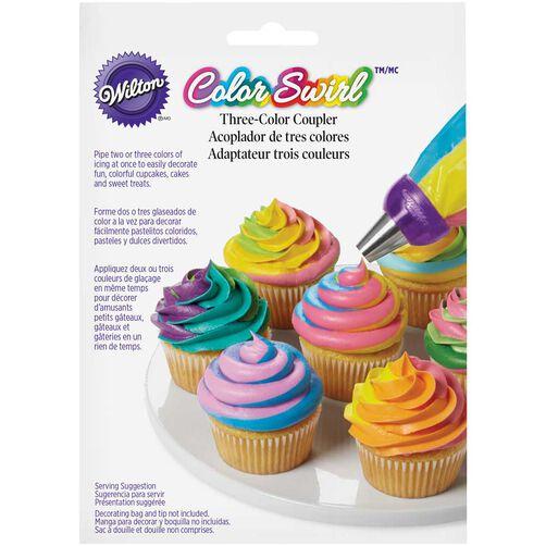 Wilton Color Swirl 3-Color Coupler