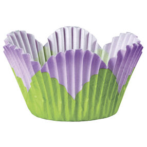 Lavender Mini Petal Baking Cup