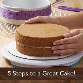 THE WILTON METHOD | Five Steps To A Great Cake