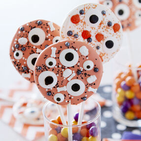 Eyeball Candy Lollipops