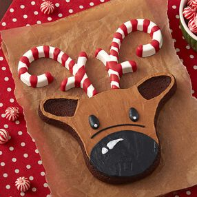Rudy Reindeer Christmas Brownie