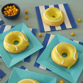 Tennis ball donuts