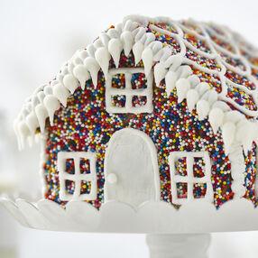 Sprinkles of Fun Gingerbread House