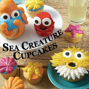 THE WILTON METHOD | Sea Creatures Cupcakes Class