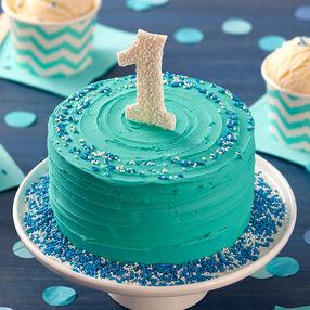 Happy First Birthday Smash Cake