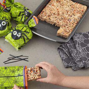 Jimmies N' Sprinkles Halloween Crispy Rice Cereal Treats